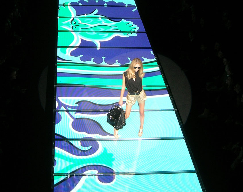 Video Display Runway