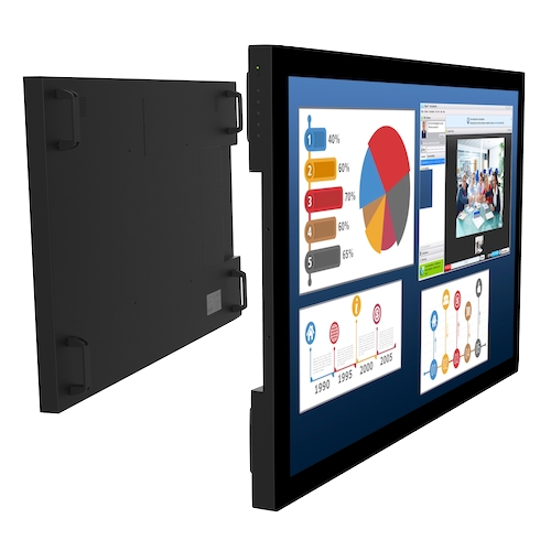 touch-screen monitor