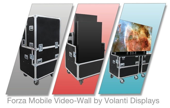 Volanti - Forza mobile video wall