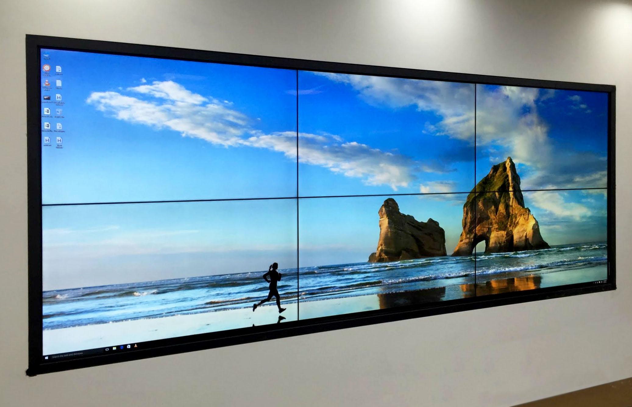 Volanti Displays Unveils Multi Touch Video Walls Volanti